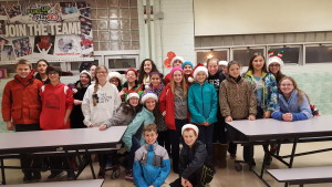 Middle School Christmas Caroling